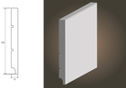 Biała listwa SLIM 120 wilgocioodporna (3)