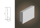 Biała listwa BASIC R1 wilgocioodporna (3)