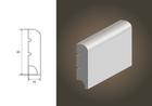 Biała listwa BASIC R10 wilgocioodporna (3)